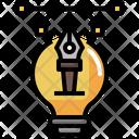 Designing Idea Icon
