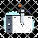 Designing pad Icon