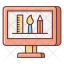 Designing Software Designing Tool Illustrator Icon