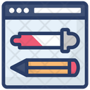 Color Picker Dropper Pipette Icon