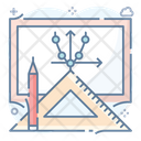 Drafting Tools Art Tools Geometry Equipments Icon