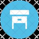 Desk Drawer Bureau Icon
