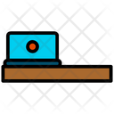 Laptop Computer Desk Icon