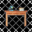 Desk Table Furniture Icon