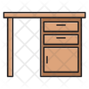 Desk Drawer Table Icon