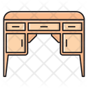 Desk Cabinet Drawer Icon