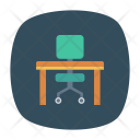 Desk Chair Home Icon