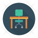 Chair Home Desk Icon