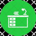 Desk Office Drawer Icon