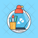 Desk Studio Design Icon
