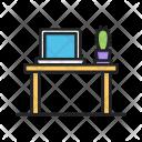 Cactus Laptop Office Icon