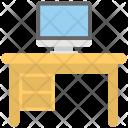 Work Desk Computer Icon
