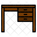 Desk Stationery Tool Icon