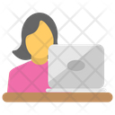 Computer User Computing Icon