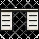 Desk cabinet Icon