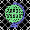 Desk Globe Desktop Globe Globe Icon