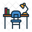 Desk Office School Icon
