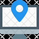 Desktop Location Pin Icon