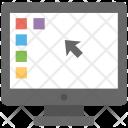 Desktop Screen Background Icon
