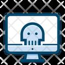 Desktop Infection Malware Icon