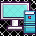 Desktop Computer Monitor Icon