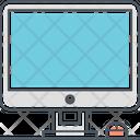 Desktop Display Screen Icon