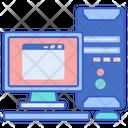 Desktop Computer Cpu Icon