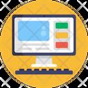 Desktop Blog Writing Blog Icon