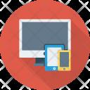 Desktop Devices Mobile Icon