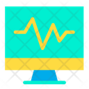 Heart Rate Medical Monitor Icon