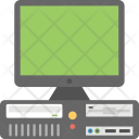 Desktop Computer Modern Icon