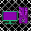 Desktop Computer Cpu Computer Icon