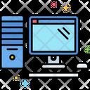 Desktop Computer Desk Computer Computer Icon