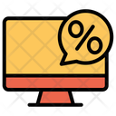 Desktop Discount Icon
