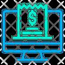 Desktop Invoice Bill Icon