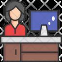 Desktop Monitor Desktop Computer Personal Computer Icon