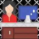 Desktop Monitor Icon