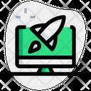 Desktop Rocket Online Startup Startup Icon