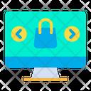 Desktop Shopping Icon