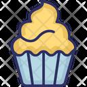 Dessert Fairy Cake Muffin Icon