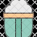 Frozen Dessert Ice Cream Ice Cream Cup Icon