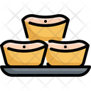 Dessert Food Sticky Icon