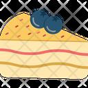 Berry Cake Cherry Cake Dessert Icon