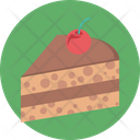 Dessert Cake Piece Sweet Food Icon