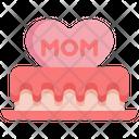 Dessert Cake Heart Icon