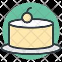 Dessert Cake Cherry Icon