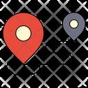 Destination Location Map Icon