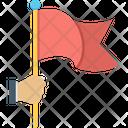 Destination Achievement Flag Icon
