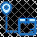 Destination Truck Delivery Icon