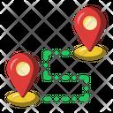 Destination Pin Map Icon